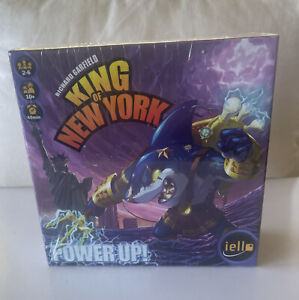 Power Up Expansion Pack King Of New York Game Iello Games IEL51290 Shark
