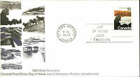 CANADA Day of Issue Cover Briefmarke Definitive Ordinaire 1972 Canel OTTAWA