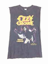 Vintage Ozzy Osbourne shirt Diary of a Madman Limited Edition Re-print Burnout