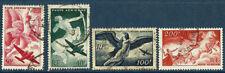 France 1946   Poste aérienne n° 16 à 19  oblitéré  série complète
