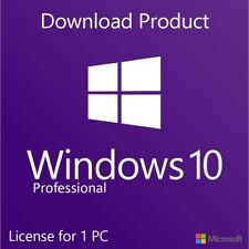 MICROSOFT WIN 10 PRO 32 / 64 BIT WIN 10 LIFETIME ACTIVATION CODE