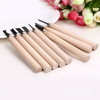 8 Pcs Wood Carving Carvers Working Chisel Hand Tool Set WoodWorking Chisels Set