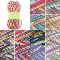 Sirdar Snuggly Baby Crofter Chunky Yarn Knitting Knit Crochet 50g Ball Wool