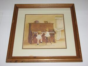 "Peggy Dickey ""Chopsticks"" Limited Edition Signed Framed Print"
