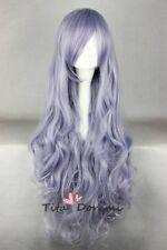 Rozen Maiden Rosen Kristall purple Lange fashion party cosplay wig Anime hair