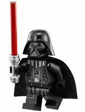 LEGO STAR WARS MINIFIGURE DARTH VADER NECK PIECE WHITE HEAD RED LIGHTSABER 75093