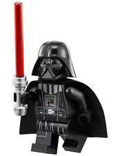 LEGO STAR WARS MINIFIGURA DARTH VADER Cuello Pieza Blanco Head rojo sable láser