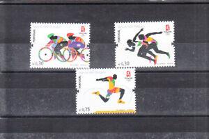 PORTUGAL 2008 BEIJING   OLYMPIC GAMES  SET MNH VF