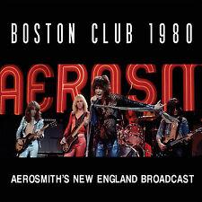 AEROSMITH New Sealed 2018 UNRELEASED 1980 BOSTON LIVE CONCERT CD