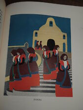1923 SEA AND SARDINIA BY D H LAWRENCE 8 COLOUR PICTURES JAN JUTA ITALY *