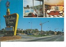 CB-237 TN, Cleveland Holiday Inn Hotel Motel Chrome Postcard Multiview Old Cars