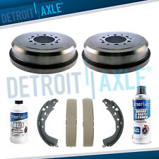 Rear Drums and Brake Shoes Set for Toyota 4Runner Tacoma Tundra 6 Lug Wheels