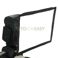 Universal Flash Softbox Diffuser for Nikon SB28 SB600 SB800 SB900 SB910 SB700
