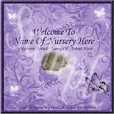 ~~ANIMATED SPARKLING BUTTERFLY REBORN BABY AUCTION TEMPLATE WITH FRfEE >LLO GO~~