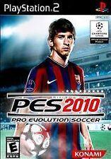 Pro Evolution Soccer 2010 (Sony PlayStation 2, 2009)