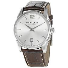 Hamilton Jazzmaster Brown Leather Mens Automatic Watch H38515555-AU