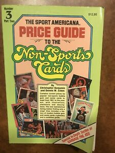 The Sports Americana Price Guide To Non Sports Cards #3 Part 2