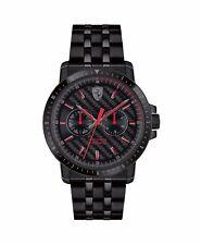 Orologio uomo Scuderia Ferrari FER0830454 acciaio nero Stainless steel men watch