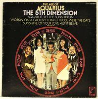 """THE 5TH DIMENSION   """"The Age Of Aquarius""""    Vinyl LP   SCS-92005"""