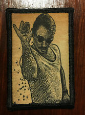 Salt Bae Morale Patch Funny Tactical ARMY Hook Military Badge Flag USA Hook