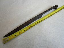 Early Ottoman Empire, rare combat knife, 14-15 th century, found in the ground!