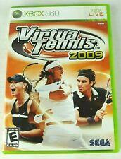Virtua Tennis Microsoft XBOX 360 Video Game Rated E