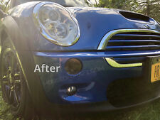 02 03 04 05 06 Mini Cooper & S smoked front turn signal light overlay decals