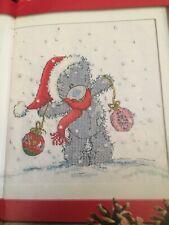 cross stitch chart Christmas Tatty Teddy