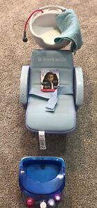 American Girl Spa Chair Nail Polish Towel
