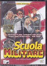 Dvd **SCUOLA MILITARE ~ THE SHOOTERS** nuovo sigillato 1990