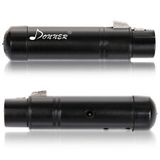 Donner Black DMX512 DJ Wireless Receiver Lighting Controller US Plug