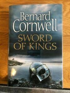 LIKE NEW *SIGNED 1st Edition Bernard Cornwell Sword of Kings The Last Kingdom