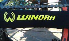Bici bike Winora Chain Slapper Protection cadenas puntales protección amarillo flúor 3