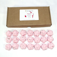 Bath Bombs Cherry scented 21 x 10g Flowers reduced plastic
