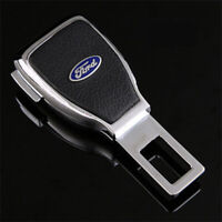 1Pc Car Seat Belt Buckle Extension Extender Clip Alarm Stopper Fit For Ford