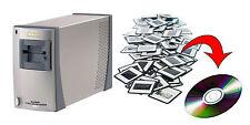 Servizio Scansione Digitalizzazione Diapositive Diapo 100 Dia Alta Qualità