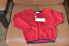 veste neuve 3  ans cacharel rouge bleu marine etiq 49 euros **