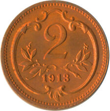 1913 / 2 HELLER / AUSTRIA / OSTERREICH / UNC FULL LUSTRE   #WT5118