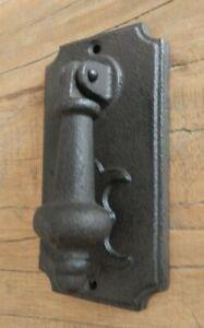 Cast iron Traditional Door knocker Rustic Ornate style UK SELLER