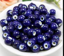 aac84bbb5963 un lote 20 cuentas de cerámica-bola de cerámica azul violeta- para DIY  bisuteria