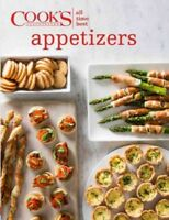 Cook's Illustrated All-time Best Appetizers, Hardcover by Editors at America'...