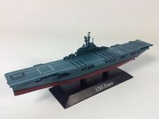 WWII Aircraft Carrier USS Essex 1:1250 scale diecast model with display plinth