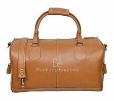 Men Leather Duffle Weekend Bag Gym Travel Bag Luggage Leather Handbag Holdall