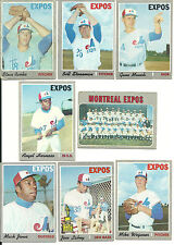 1970 Topps Vintage EXPOS 22 cards partial set lot Stoneman Renko Morton RC