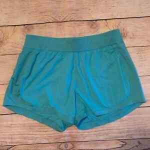 Athleta medium stellar blue running shorts m2