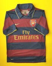 5/5 Arsenal third jersey small 2007 2008 away shirt Nike soccer football ig93
