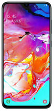 "Samsung Galaxy A70  Black SM-A705W 6.7"" 128GB 6GB RAM (UNLOCKED)"