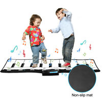 110x36cm Piano Mats Music Carpets Children Touch Play Mat Musical Rug Music Toys
