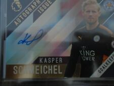 Kasper Schmeichel Leicester Topps Premier Gold card 2017/18 AUTOGRAPH ISSUE