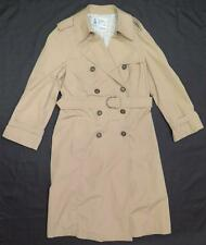 ~ LONDON FOG ~ Women's Long Khaki Maincoat / Trench size 12 REG... Very Clean!